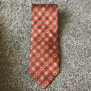 Jos. A. Bank Executive collection silk tie circles